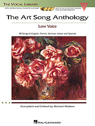 The Art Song Anthology with 3 CDs - Low Voice