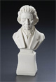 "Large Beethoven 7"" Composer Statuette"