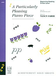 Piano Federation 2016-20: Piano Solos Pre-Primary: A Particularly Pleasing Piano Piece