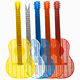 Guitar Flyswatter (Assorted Colors)