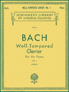 J. S. Bach : Well Tempered Clavier  Book 1