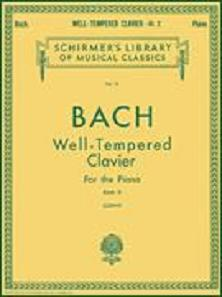 J. S. Bach : Well-Tempered Clavier Book 2