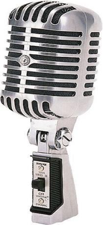 55SH Series II Vocal & Speech Microphone