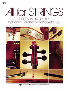 All For Strings - Cello Theory Workbook 1