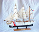 Historical Ship Model COAST GUARD Music Box
