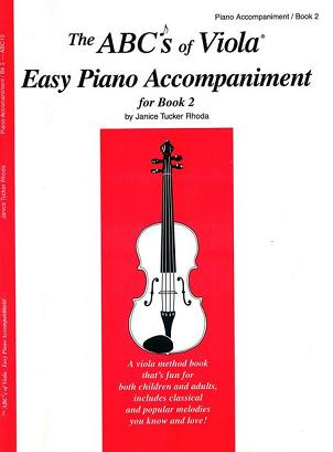 ABC's of Viola Piano Accompaniment for Book 2
