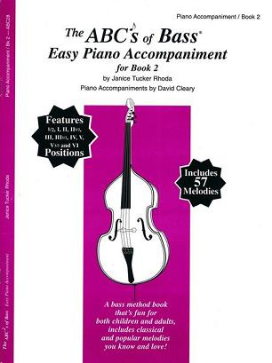 ABC's of Bass Easy Piano Accompaniment for Book 2