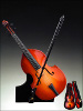 Upright Bass Music Box (10 inches)