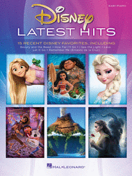 Disney Latest Hits -- 15 Recent Disney Favorites