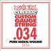 Ernie Ball Guitar Strings: Classic Pure Nickel Six-Pack -34 1234