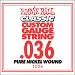 Ernie Ball Guitar Strings: Classic Pure Nickel Six-Pack-36 1236