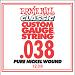 Ernie Ball Guitar Strings: Classic Pure Nickel Six-Pack -38 1238