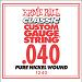 Ernie Ball Guitar Strings: Classic Pure Nickel Six-Pack -40 1240