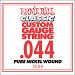 Ernie Ball Guitar Strings: Classic Pure Nickel Six-Pack -44 1244