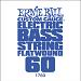 Ernie Ball Guitar String: Flatwound Electric Bass- 60 1760