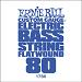 Ernie Ball Guitar String: Flatwound Electric Bass- 80 1780