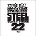 Ernie Ball Guitar Strings: .022 Stainless Steel 6 pack 1922