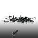 Ernie Ball  Pickguard Screws Black Bag of 40 4242