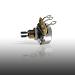 Ernie Ball 500K Split Shaft Potentiometer for Instruments 6381