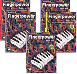 Finger Power Set (Primer - Level 4, 5 book set w/ CDs)