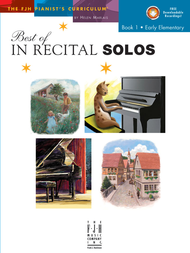 Piano Federation 2016-20: Piano Solos Primary Class I: BEST OF IN RECITAL SOLOS, BK 1; Distant Bells, Run-Around Rag