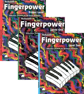 Fingerpower 3 Book Set: Primer, 1, 2 Levels
