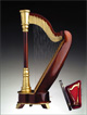 Large Harp Music Box