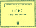 Herz Scales and Exercises for the Piano -- Schirmer Library of Classics Volume 170 Piano Technique