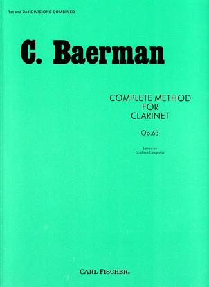 Complete Method for Clarinet, Op. 63- Pts. 1 & 2
