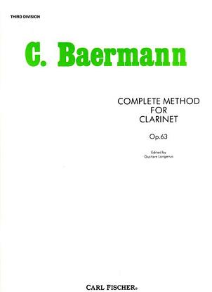 Complete Method for Clarinet - 3rd Division
