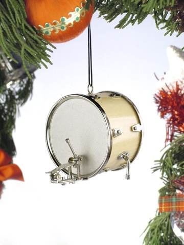 Bass Drum Ornament