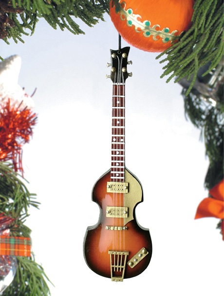 Slim Body Electric Bass Guitar Ornament