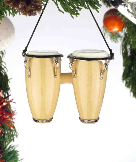 Double Conga Drum Ornament