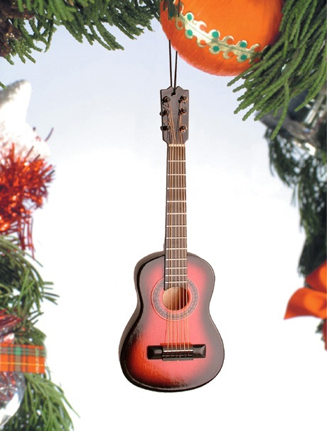 Brown Classical Guitar Ornament