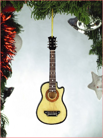 Classical Guitar w/Cutaway Ornament