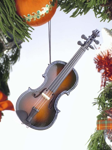 Fiddle Ornament