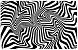 Black and White Swirl 3-Pack PikCard