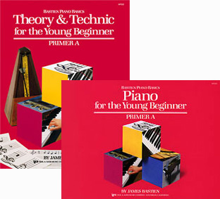 Bastien Piano Basics, Primer A Set: Lesson Primer A and Theory & Technic Primer A