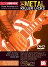 Mel Bay: Learn to Play 50 Metal Killer Rock Licks DVD
