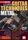 Mel Bay: Learn Guitar Techniques- Metal (Kirk Hammett Style) DVD