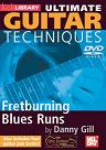 Mel Bay: Learn Guitar Techniques- Fretburning Blues Runs DVD