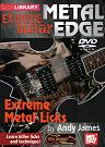 Mel Bay: Metal Edge- Extreme Metal Licks DVD