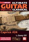 Mel Bay: Ultimate Guitar- Shredding Classical, Caprice #24 DVD