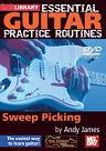 Mel Bay: Essential Guitar Practice Routines- Sweep Picking DVD