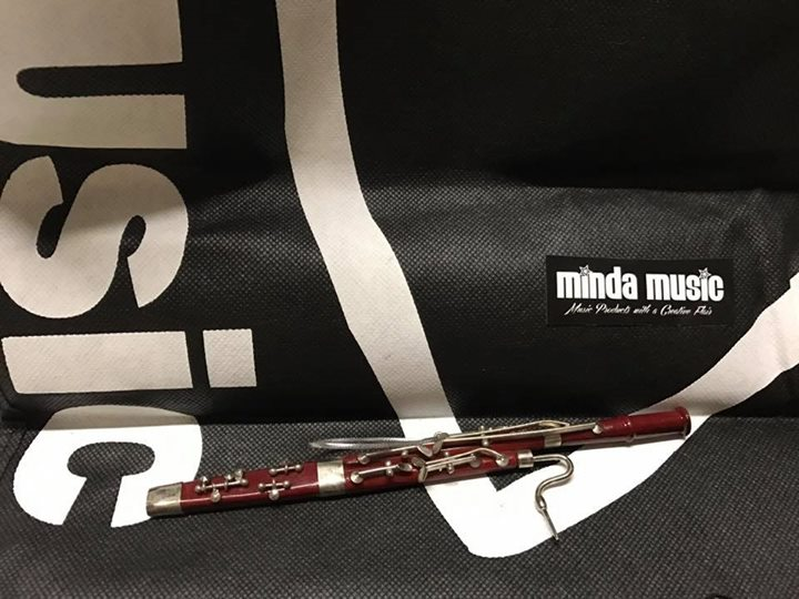 Minature Bassoon Ornament